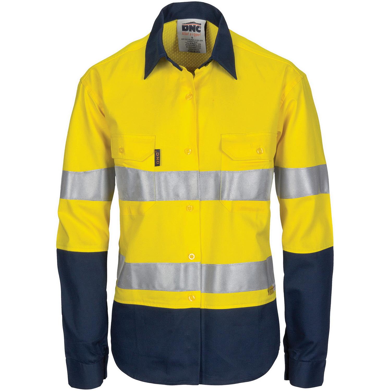 Dnc workwear workwear work wear clothing winter wear for Custom hi vis shirts