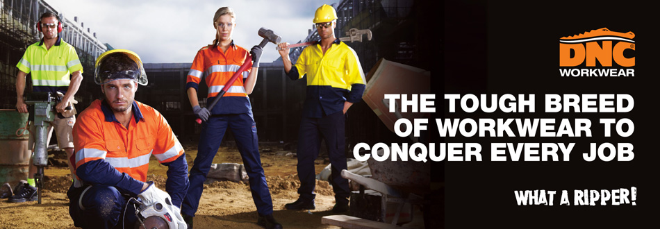 DNC - The tough breed of workwear to conquer every job