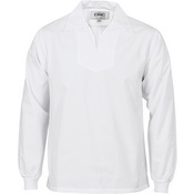 V-Neck Food Industry Jerkin - Long Sleeve