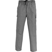 Drawstring Poly Cotton Cargo Pants