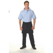 P/C Short Apron With Pocket