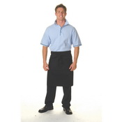 Cotton Drill 3/4 Apron With Pocket