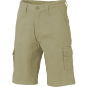 Cotton Drill Cargo Shorts