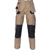 Duratex Cotton Duck Weave Tradies Cargo Pants with twin holster tool pocket - knee pads not included