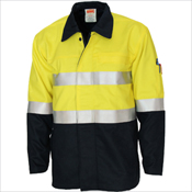 Patron Saint Flame Retardant Two Tone Drill ARC Rated Welder's Jacket with 3M F/R Tape
