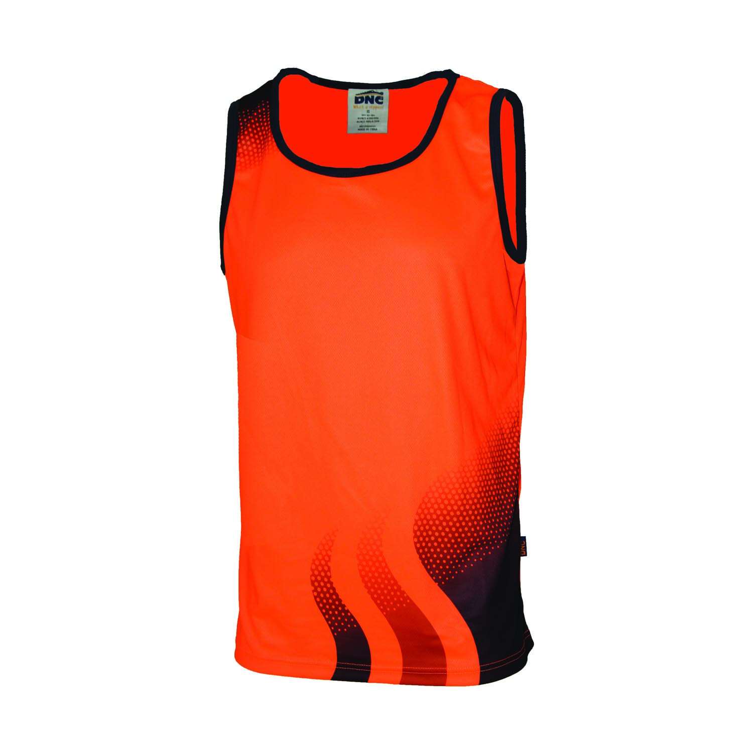 WAVE HIVIS SUBLIMATED SINGLET