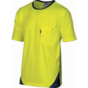 HiVis Cool-Breathe Tee - short sleeve