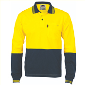 HiVis Cool-Breeze Cotton Jersey Polo Shirt
