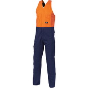 HiVis Two Tone Cotton Action Back Overall