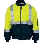 HiVis Two Tone Flying Jacket with 3M R/Tape
