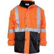 HiVis Two Tone Quilted Jacket with 3M R/Tape