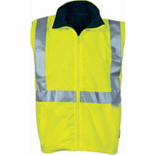 HiVis Reversible Vest with 3M R/Tape