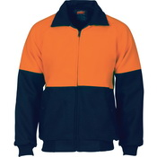 HiVis Two Tone Bluey bomber jacket