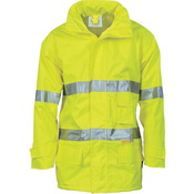 HiVis Breathable Anti-Static Jacket with 3M R/Tape