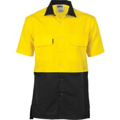 HiVis 3 Way Cool-Breeze Cotton Shirt -