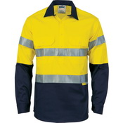HiVis Cool-Breeze Close Front Cotton Shirt