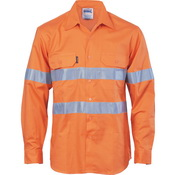 HiVis Cool-Breeze Vertical Vented Cotton Shirt