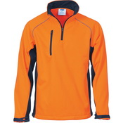 HiVis 1/2 Zip Softshell Jacket