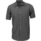 Mens Premier Poplin Business Shirts - Short Sleeve