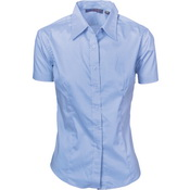 Ladies Premier Stretch Poplin Business Shirts - Short Sleeve