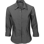 Ladies Premier Stretch Poplin Business Shirts - 3/4 Sleeve