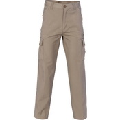 Island Cotton Duck Weave Cargo Pants