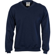 V-Neck Fleecy Sweatshirt (Sloppy Joe)