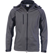 Mens Full Zip Swiss Softshell Jacket