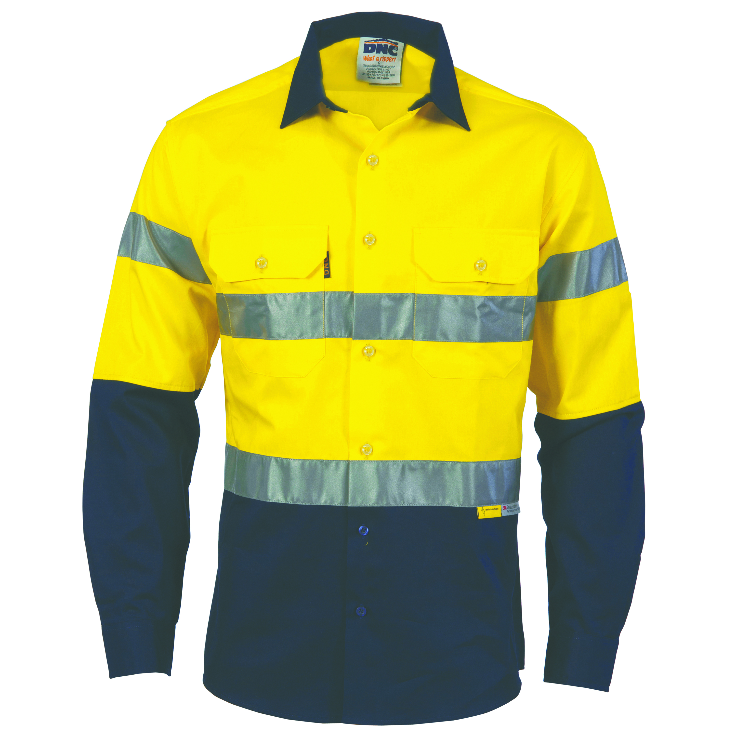 Safety Yellow Shirts >> Product Display - DNC Workwear - workwear, work wear ...