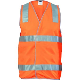 Day/Night Safety Vest with Hoop & Shoulder Generic R/Tape