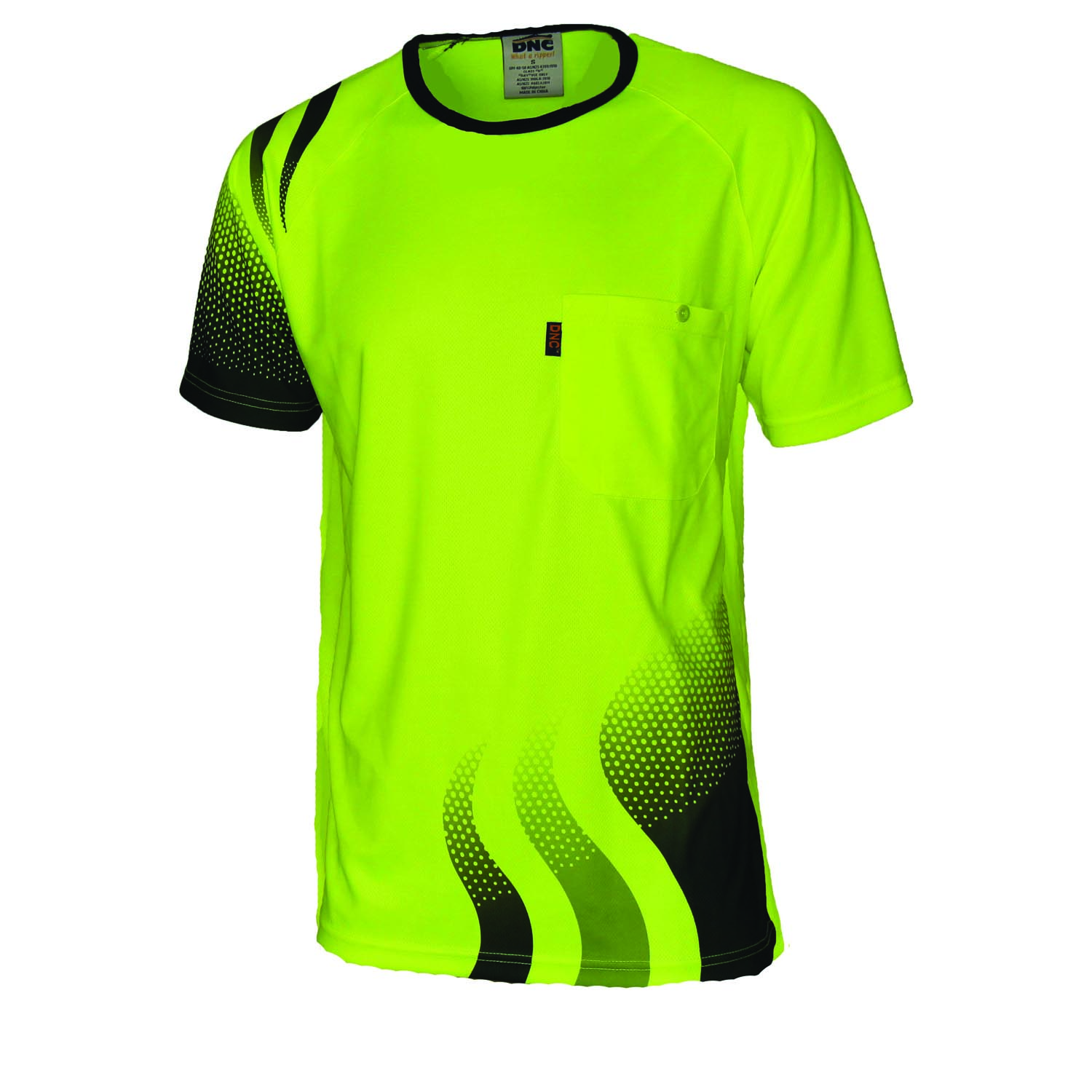 Product display dnc workwear workwear work wear for High visibility safety t shirts