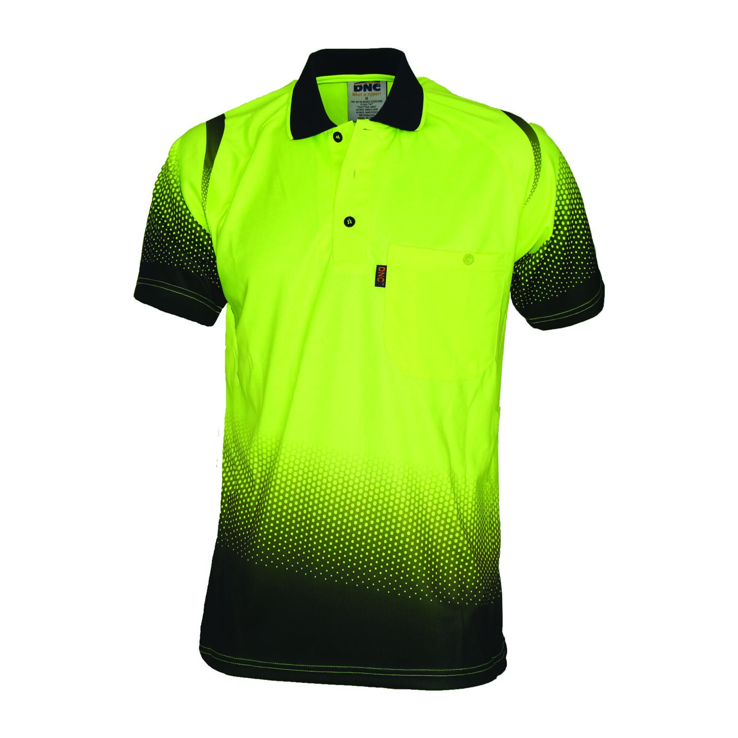 OCEAN HIVIS SUBLIMATED POLO