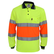 Hi-Vis Cool-dry 2T Bio-motion D/N Polo