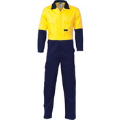 HiVis Two Tone Cott on Coverall