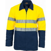 HiVis Two Tone Protect or Drill Jacket with 3M R/ Tape
