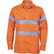 HiVis Cool-Breeze Cotton Shirt with 3M 8906