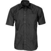 Polyester Cotton Business Shirt - Short Sleeve