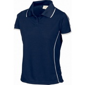 Ladies Cool-Breathe Piping Polo