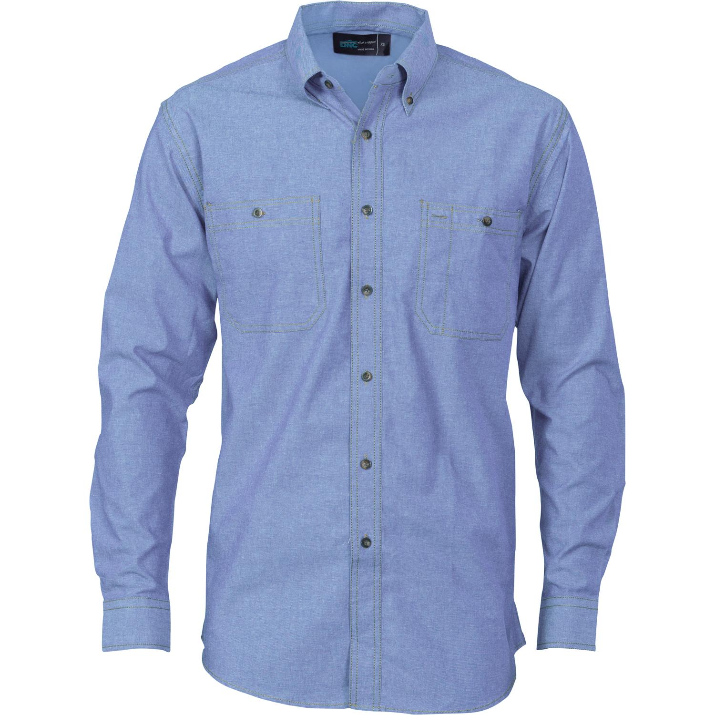 Chambray Shirts Mens